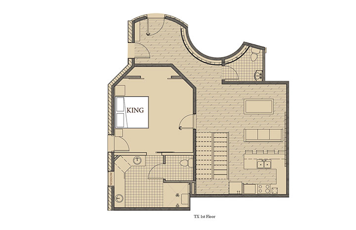 Texas 1 Floorplan