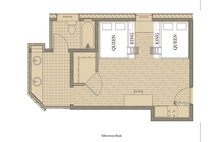 Yellowstone 2 Floorplan