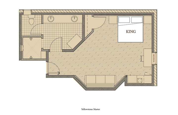 Yellowstone 1 Floorplan